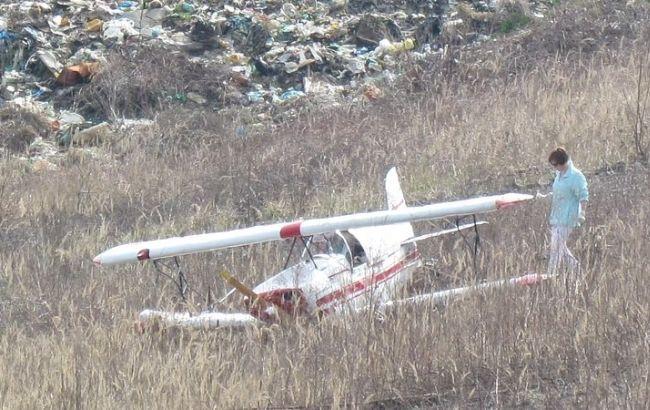 Фото: літак після аварії