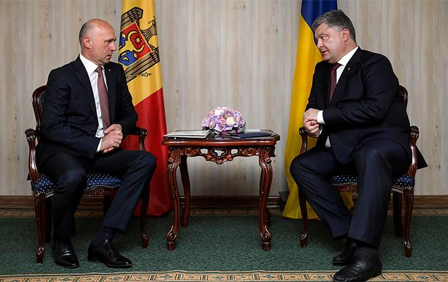 Фото: Петро Порошенко і Павло Філіп (president.gov.ua)