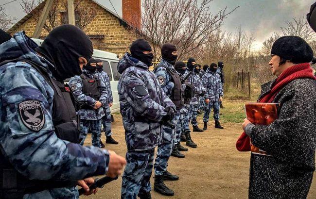 Обшуки в Криму: затримані четверо кримських татар