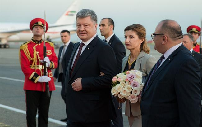 Фото: Петр Порошенко в Грузии (president.gov.ua)