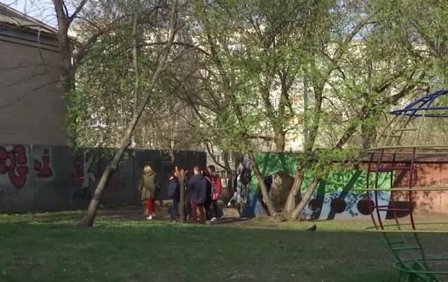 Фото: Место, где избивали подростков