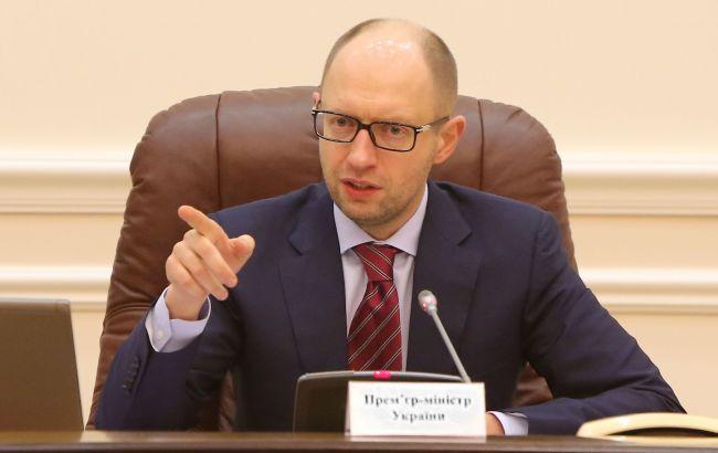 Яценюк у вересні запропонує коаліції новий склад Кабміну