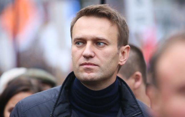 Фото: оппозиционер Алексей Навальный