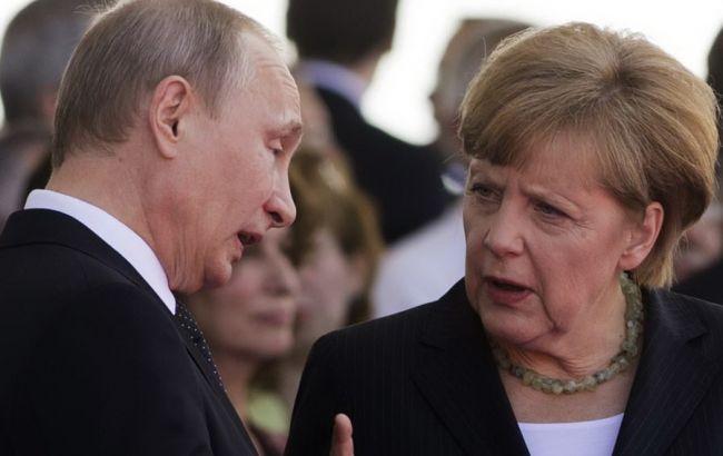 Меркель вимагає від Путіна вплинути на бойовиків на Донбасі