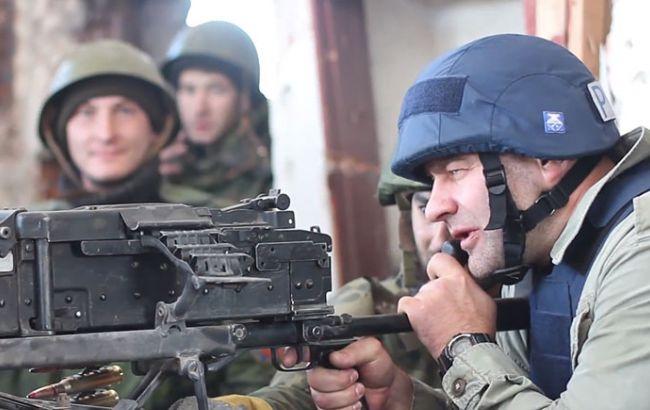 Фото: инцидент в Донецке с участием актера Михаила Пореченкова, 2014 год