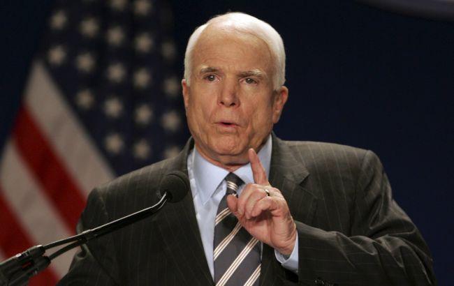 Маккейн зажадав ввести санкції відносно Росії через вибори у США