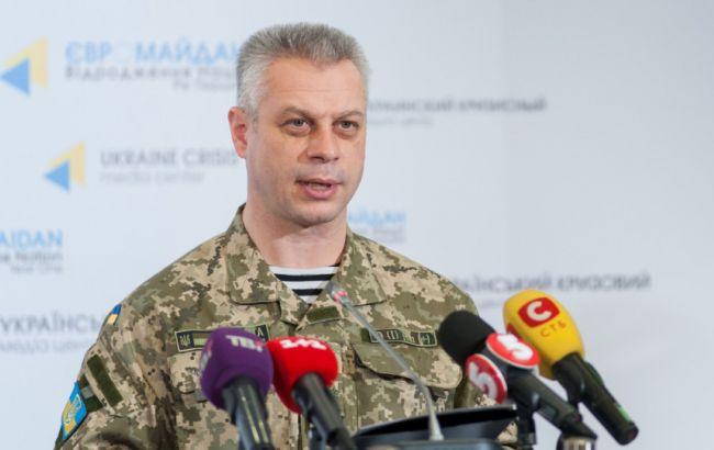 10 военных и2 гражданских лица ранены взоне АТО засутки