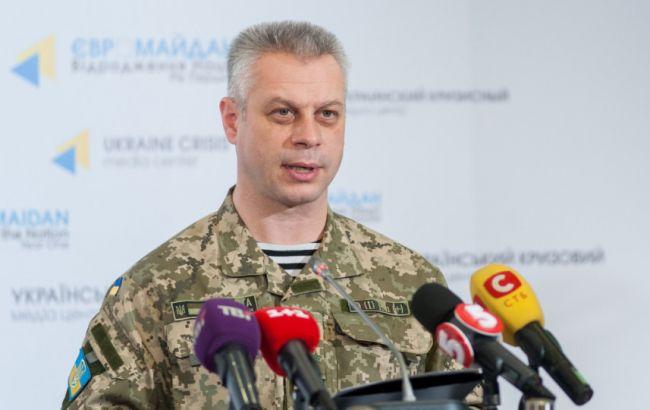 Боевики атаковали опорный пункт сил АТО, засутки есть потери— карта
