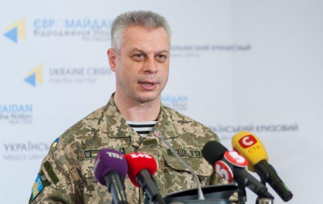 НаДонбассе умер один украинский военный, шестеро получили ранения