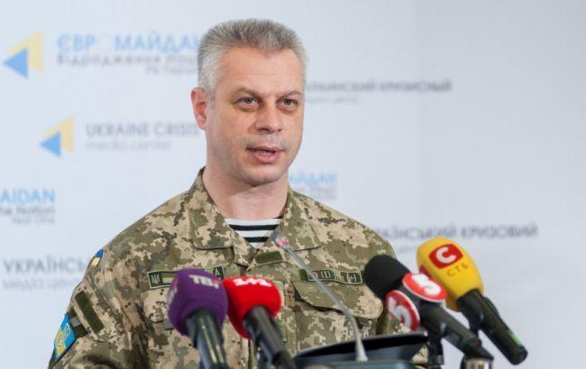 Взоне АТО засутки ранен один украинский военный