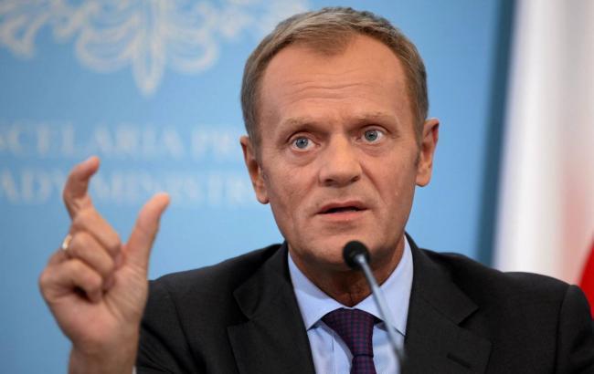 Туск заявив про необхідність продовження санкцій проти Росії
