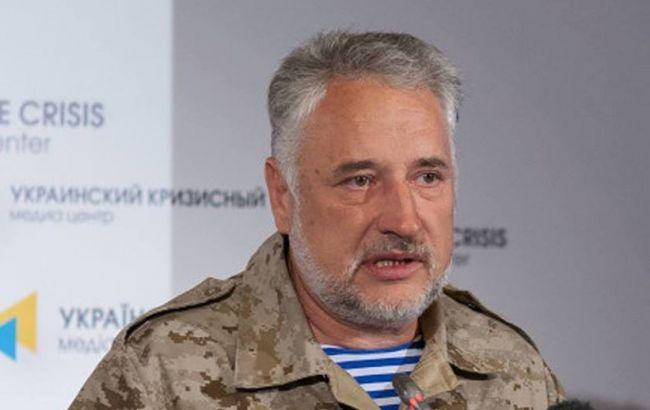 Фото: глава военно-гражданской администрации Донецкой области Павел Жебривский