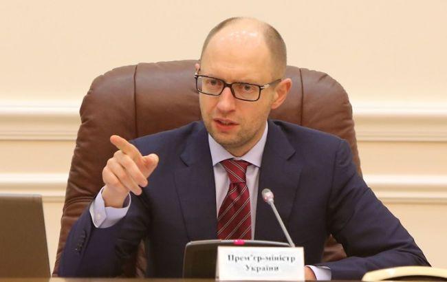 Яценюк хочет заслушать Кихтенко по трем вопросам