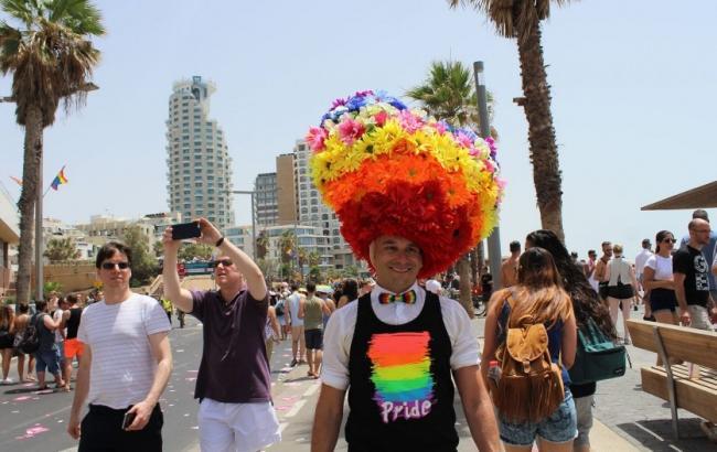 Фото: Прайд в Тель-Авиве (РБК-Украина)