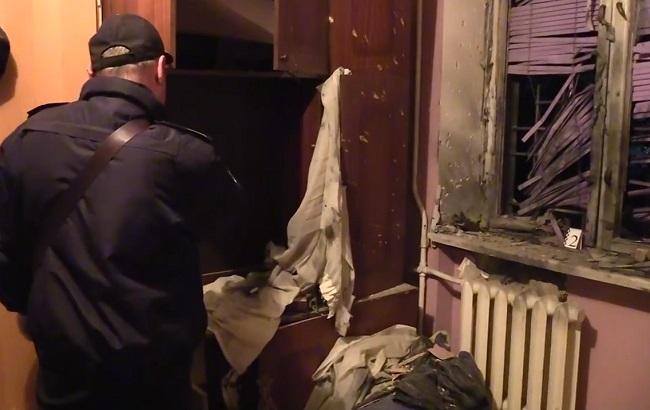 Вквартире настоличной Соломенке среди ночи произошел взрыв