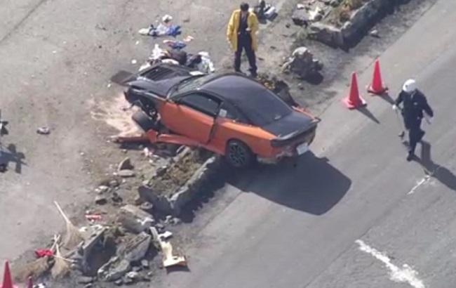 ВЯпонии насоревнованиях автомобиль врезался в созерцателей, есть пострадавшие
