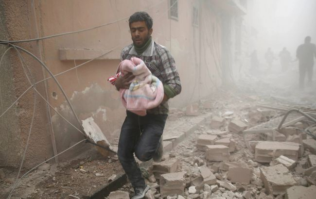 Число жертв бомбардувань під Дамаском зросло до 45