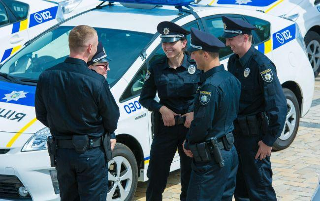 Фото: патрульные в Киеве