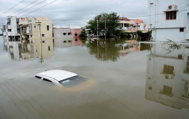 Фото: повінь в Македонії