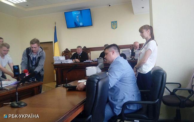 Фото: суд у справі про напад на Найєма (РБК-Україна)