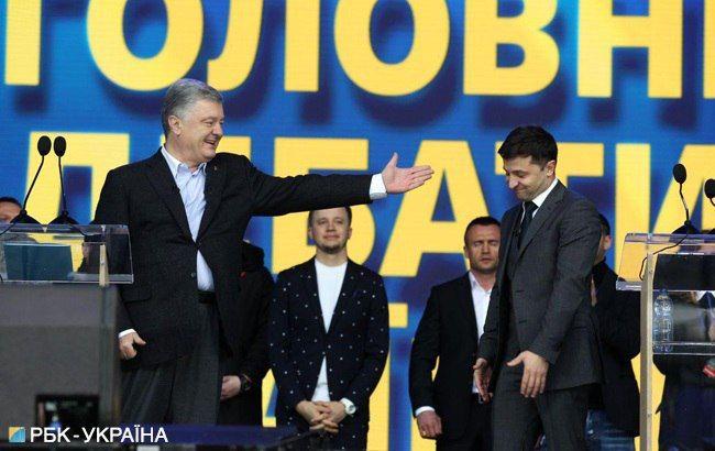 """Порошенко запросив Зеленського продовжити дебати на """"Суспільному"""""""