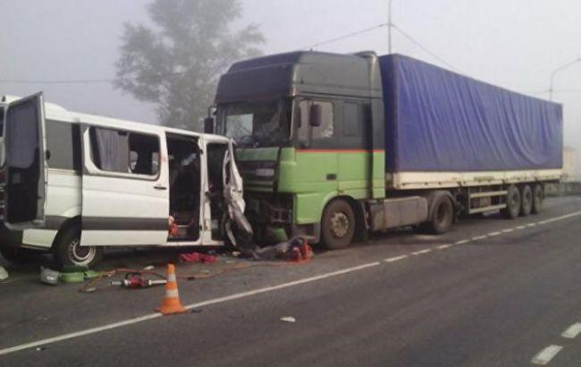 Фото: В ДТП под Курском погибли шестеро украинцев