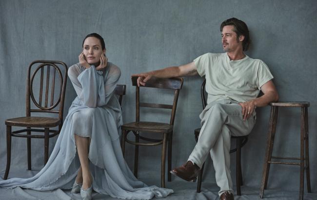 Фото: Анджелина Джоли и Брэд Питт (vogue.ua)