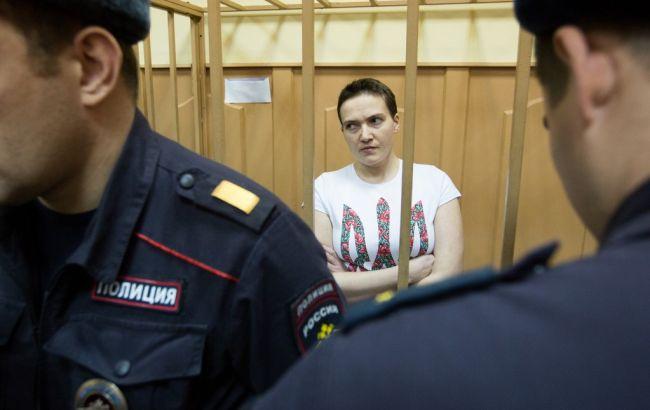 Фото: Надія Савченко на суді