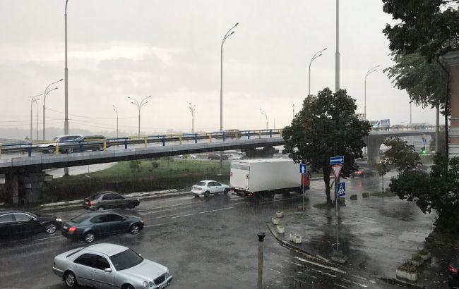 На Київ обрушився ураган