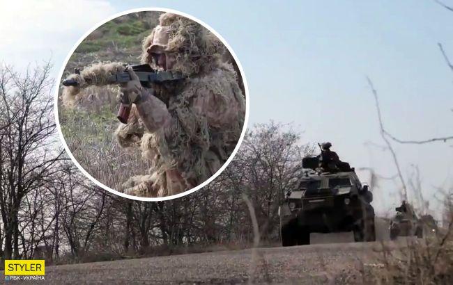Бойцы ВСУ проводят учения под носом у оккупантов: впечатляющее видео из-под Крыма