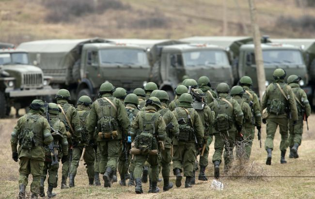Фото: російські солдати в Сирії