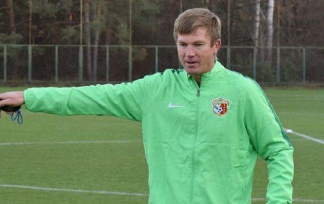 """Руководство """"Ворсклы"""" дало новому тренеру четыре матча"""