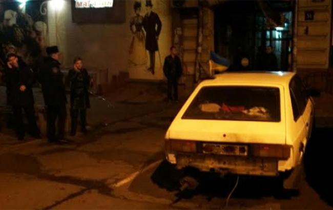 У центрі Одеси стався вибух біля офісу активістів Євромайдану, - ЗМІ