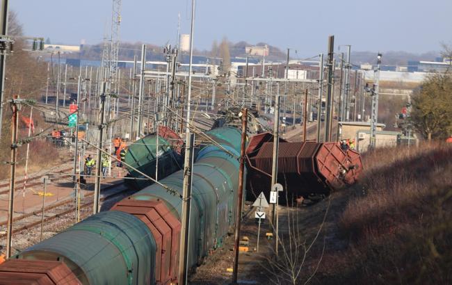 Фото: зіткнення поїздів в Люксембурзі