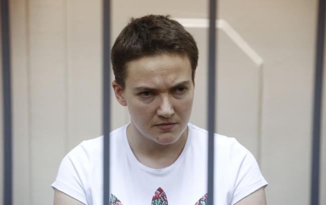 Савченко рассказала о голодовке и деле против Фейгина