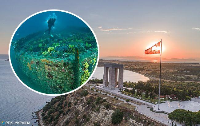 """""""Место большой истории"""". В Турции открыли масштабный подводный парк на месте боев за Дарданеллы"""
