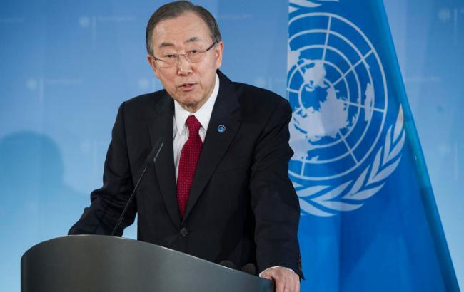 Фото: Пан Гі Мун заявив про загрозу гумкатастрофи в Алеппо