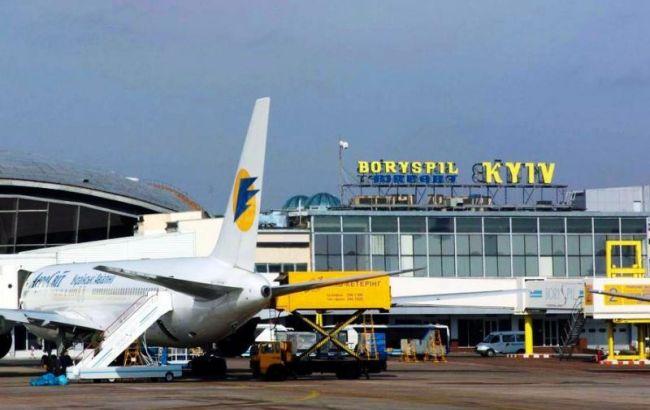"""У Борисполі затримали рейс до Тбілісі через пасажира-""""терориста"""""""