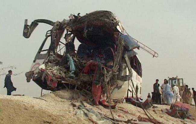 Фото: ДТП в Пакистане