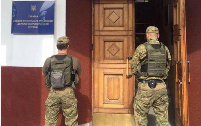 Фото: ГПУ провела обыски в Госпогранслужбе в рамках расследования уголовного дела