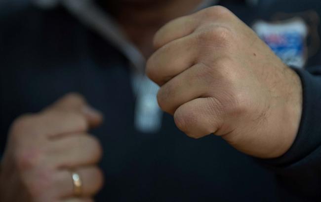 Фото: У Києві сталася бійка автомобілістів (pmg.ua)