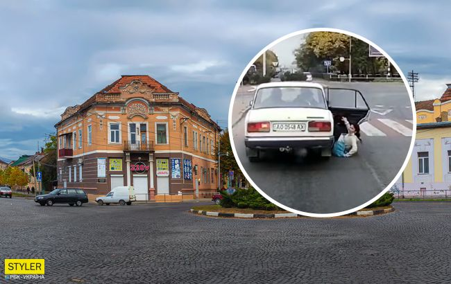 У Мукачеві водій ВАЗа загубив пасажирку на ходу: вийшло страшно, але курйозно