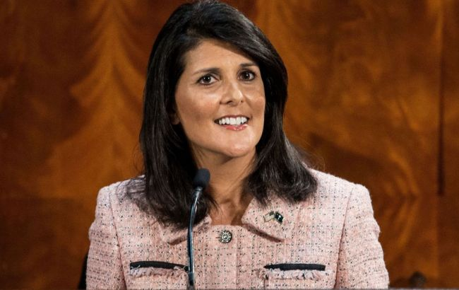 Фото: новим постійним представником США в ООН стане Ніккі Хейлі