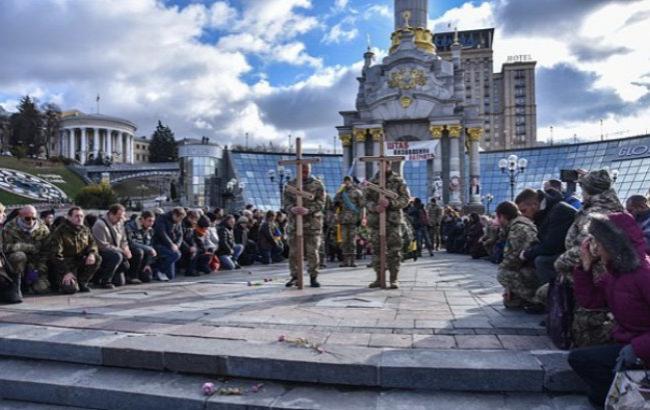 Фото: Прощание с погибшими бойцами АТО (lb.ua)