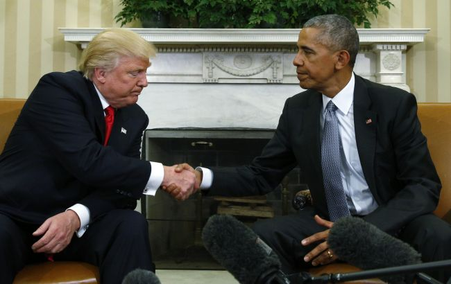 Встреча Сешнса ипосла Российской Федерации прошла поуказанию Обамы— Трамп