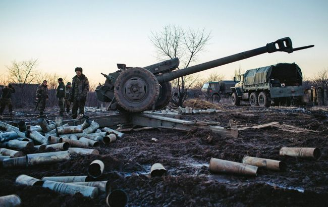 Взоне АТО избивали из«Градов» итяжелой артиллерии: ранены 2 солдата