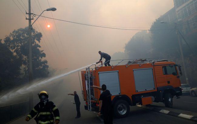 Фото: пожежі в Ізраїлі