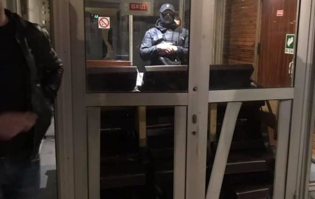 В Киеве пытались совершить рейдерский захват спорткомплекса