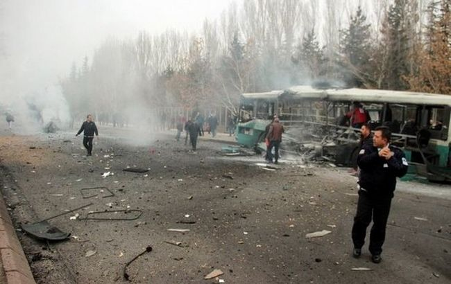 МВД Турции задержало семерых подозреваемых втеракте вКайсери