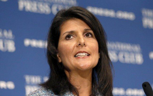 Фото: постоянный представитель США в ООН Никки Хейли